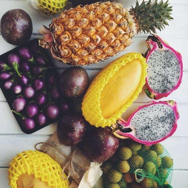 попробовать экзо фрукты