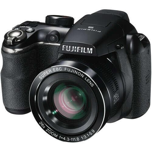Цифровой фотоаппарат Fujifilm FinePix S4300 черный