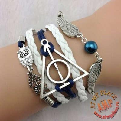 """Сине-белый браслет """"Гарри Поттер"""""""