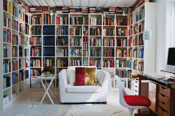 Хочу свою домашнюю библиотеку:3