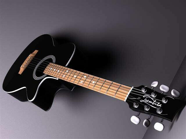 Мечтаю о гитаре