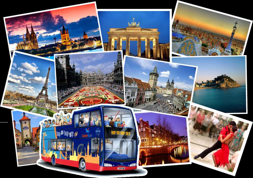 Тур на машине по Европе