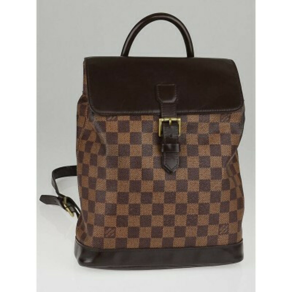 Louis Vuitton Damier Canvas Soho Backpack Bag - Designers - 10004435