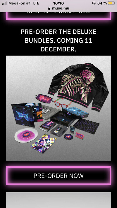 MUSE - simulation theory film deluxe box sets