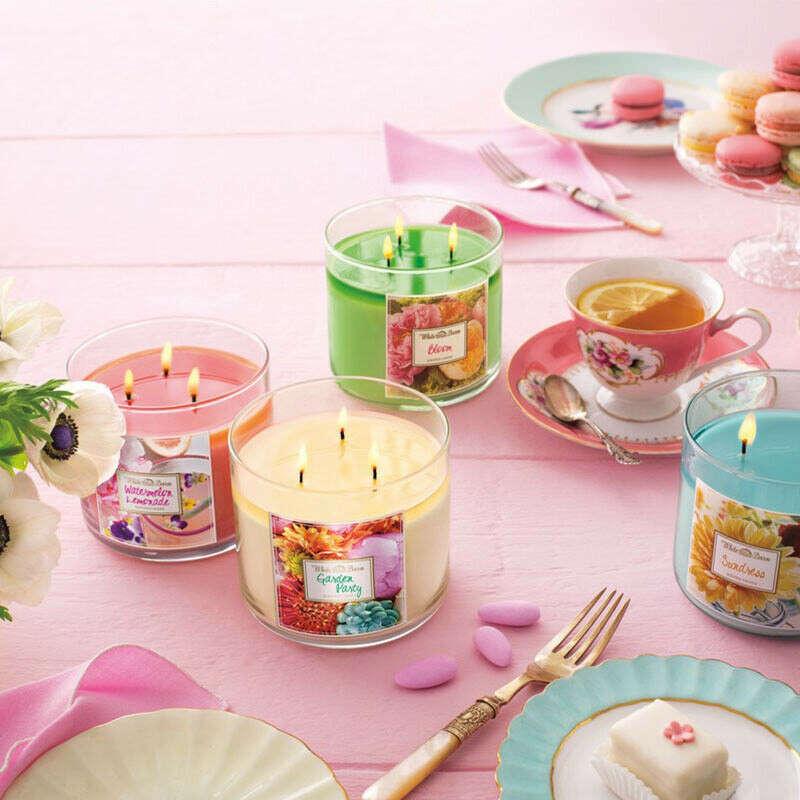Большие ароматические свечи