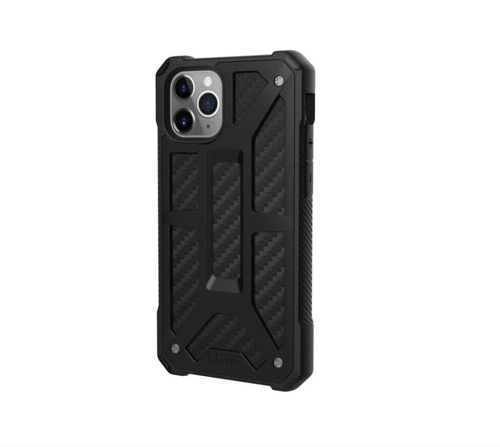 Чехол UAG Monarch для iPhone 11 Pro, карбон