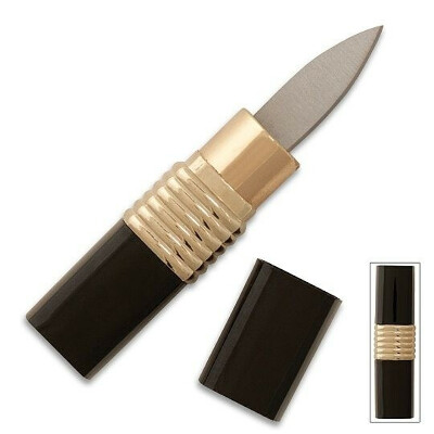 Lipstick knife
