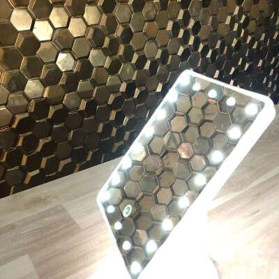 """Страница полезных товаров on Instagram: """"????Очень крутые зеркала с подсветкой✨. ✨✨✨✨✨✨✨✨✨✨. ????Незаменимая вещь для каждой девушки????. ????Отличное качество????. ????22 led светильника???? ????работает…"""""""