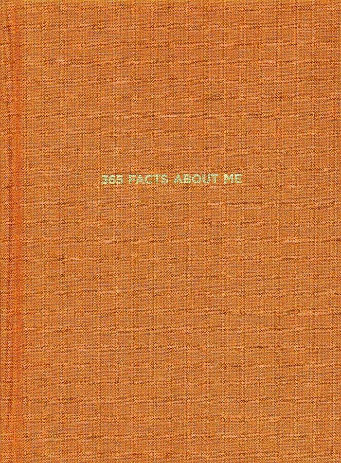 Блокнот 365 facts about me: 365 фактов обо мне