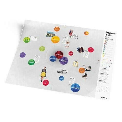 """Карта желаний """"Dream&Do"""" бренда 1DEA.me"""
