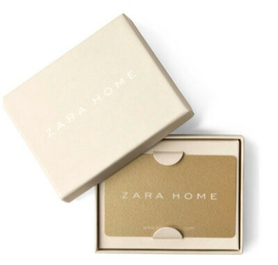 Подарочная карта Zara Home