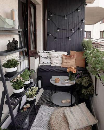 Оформить уютный балкон