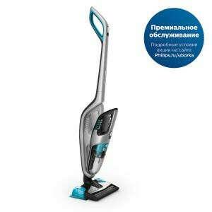 Беспроводной пылесос для сухой и влажной уборки Philips