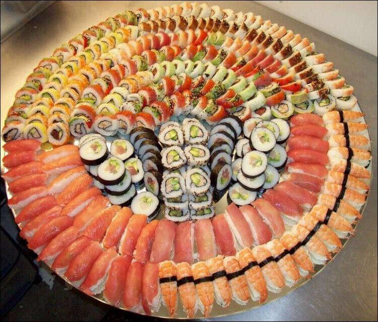 Наесться до отвала вкуснейших суши!!!!