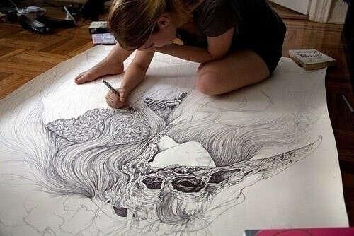 Нарисовать большую картину!