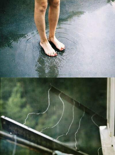 Гулять босиком под летним дождем