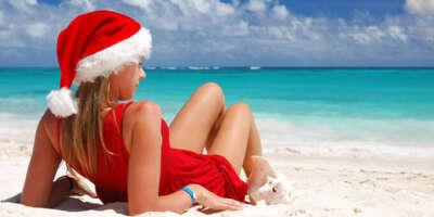 Встретить Новый Год на берегу моря