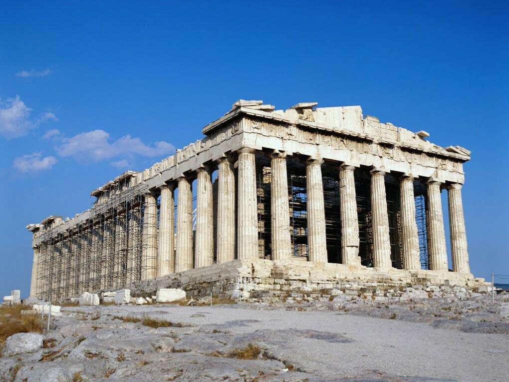 Объездить все архитектурные памятники Греции