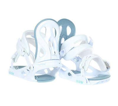 Крепления для сноуборда женские Roxy Glow Binding White (17BN011) в интернет-магазине Proskater.ru
