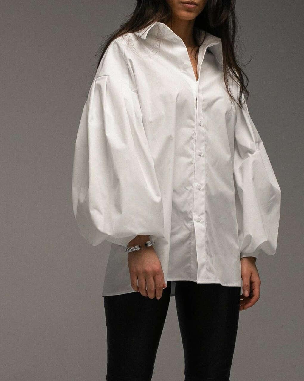 """MOREISH on Instagram: """"Хлопковая рубашка в белом цвете доступна по предзаказу????"""""""
