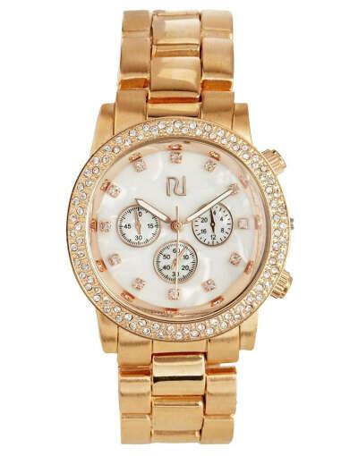 Часы цвета розового золота с перламутром River Island Emily