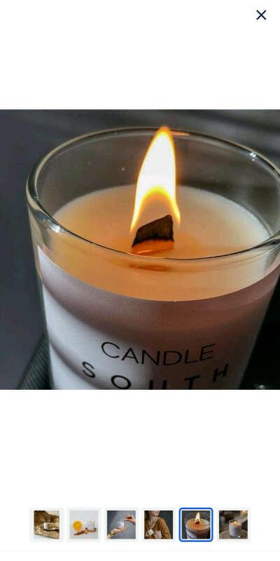 Потрескивающая свеча