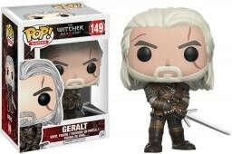 Фигурка Funko POP Games The Witcher: Geralt (9,5 см)