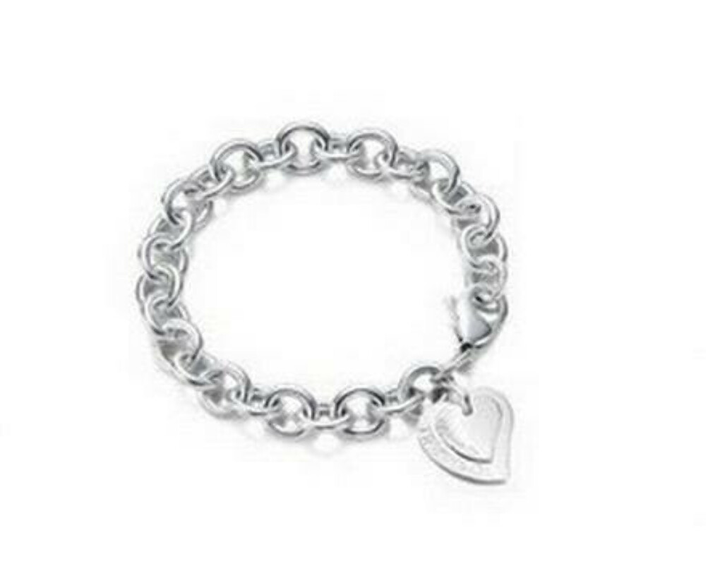 Браслет Tiffany & Co Two pieces heart toggle bracelet [0170]