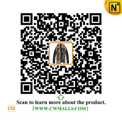 CWMALLS® Denver Mens Raccoon Fur Leather Jacket CW817259