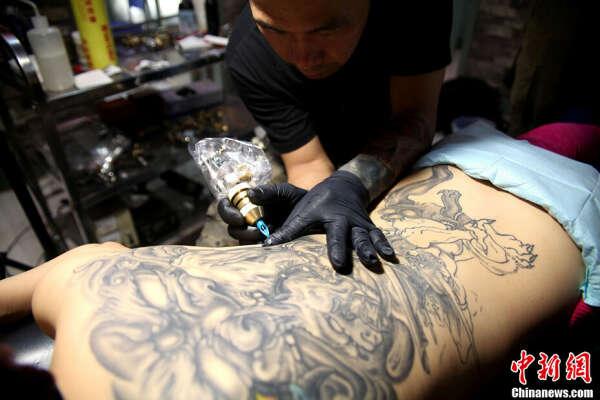 Новую татуировку