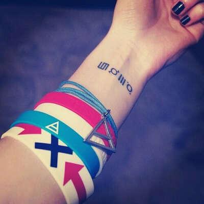 Татуировку