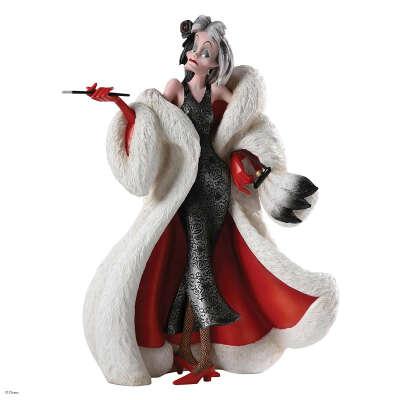 Enesco Disney Showcase Cruella Couture de Force Figurine, 8-Inch