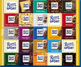 Хочу всю коллекцию шоколада Ritter Sport
