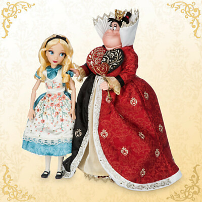 Alice and The Queen of Hearts Doll Set - Alice in Wonderland - Disney Fairytale Designer Collection | Disney Store