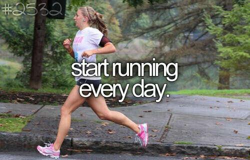 начать бегать каждый день