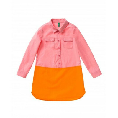 Платье колор блок 3-4 года | Benetton