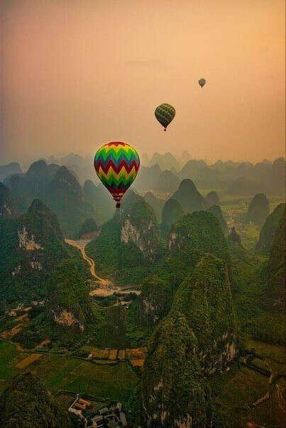 полетать на воздушном шаре!