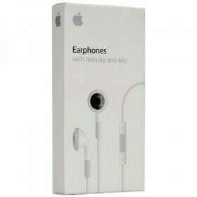 Наушники Apple Earphones with Remote and Mic