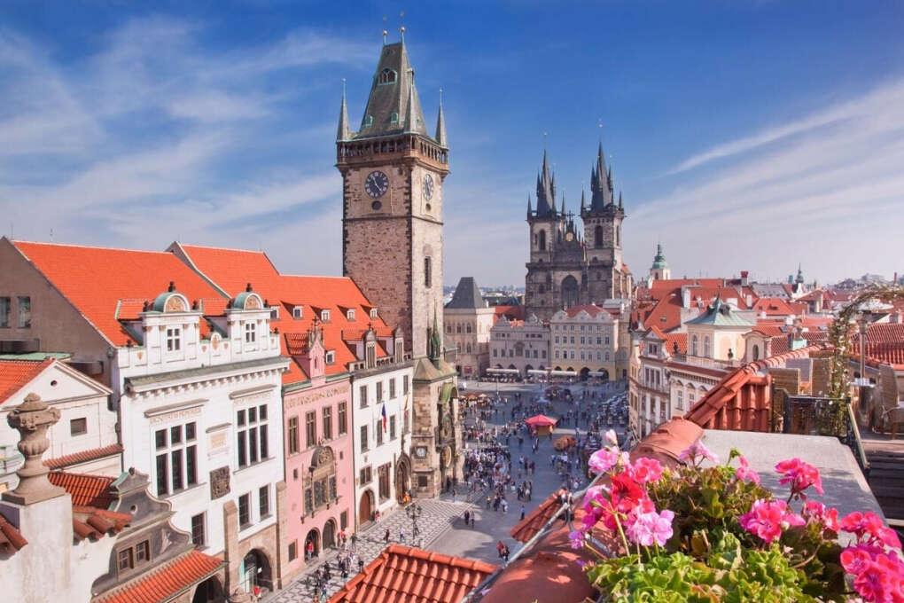 Погулять по Праге