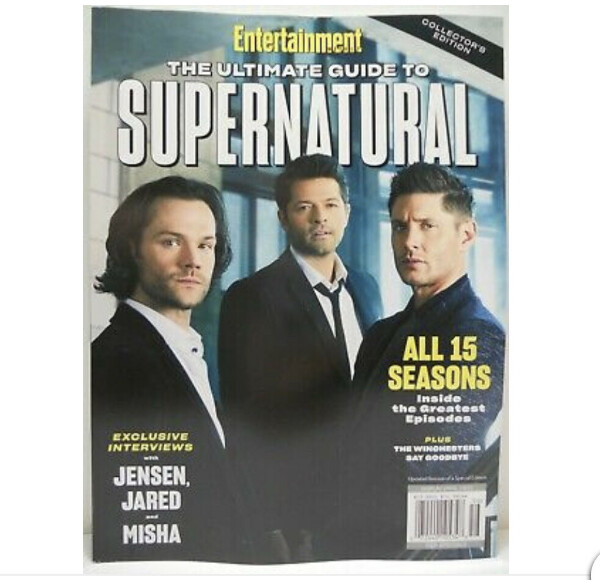 Entertainment Weekly The Ultimate Guide To Supernatural Collectors Edition  2020