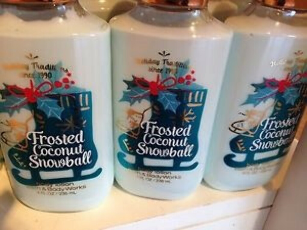 4 Bath & Body Works FROSTED COCONUT SNOWBALL Hand Body Lotion Holiday 2016 | eBay