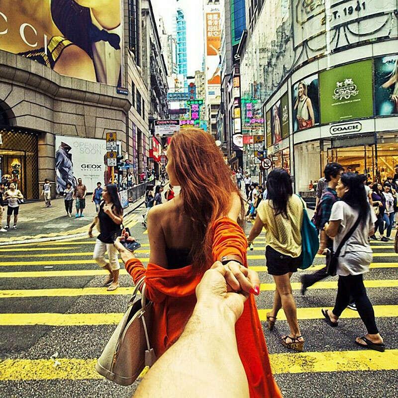 Путешествовать по всему миру вместе с любимым мужем