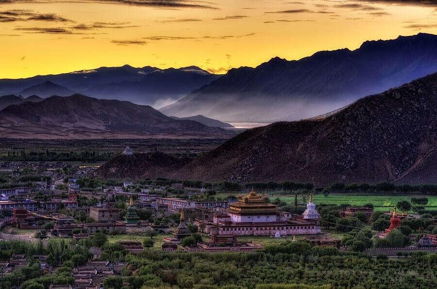 В Тибет