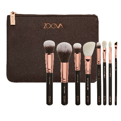 Кисти ZOEVA ROSE GOLDEN LUXURY SET