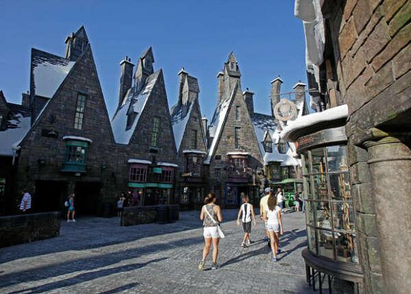 """Побывать в парке """"Волшебный мир Гарри Поттера"""""""