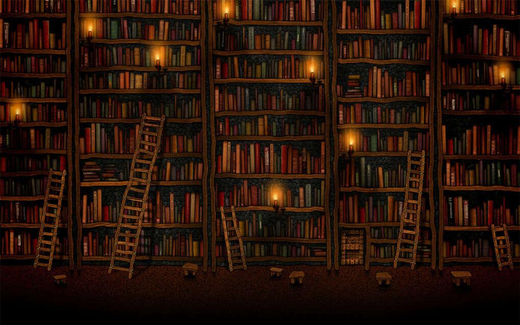 Домашнюю библиотеку с любимыми книгами