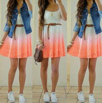 это красивое летнее платье
