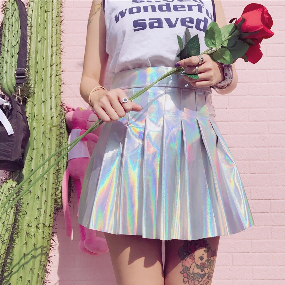Голографическую юбку