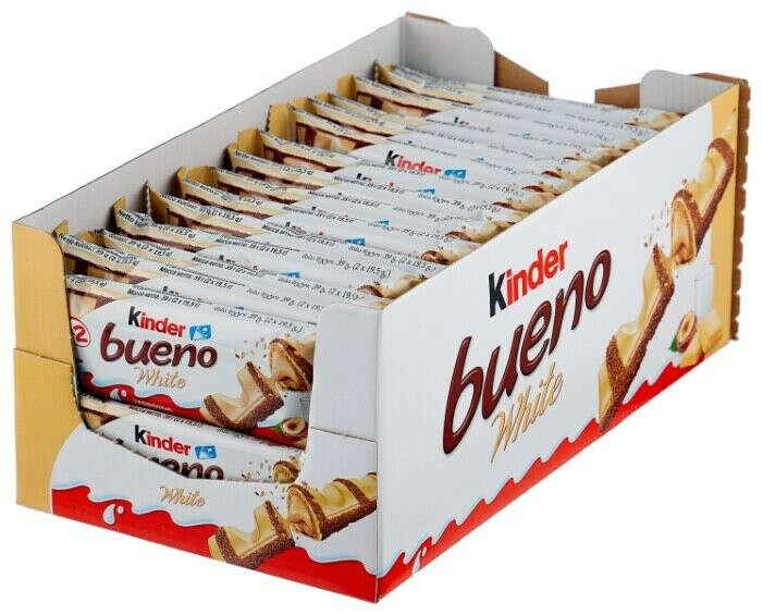 Коробка Kinder Bueno white