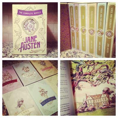 Прочитать все романы Джейн Остин